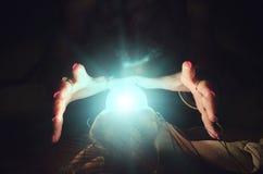 σφαίρα cystal Στοκ Φωτογραφίες