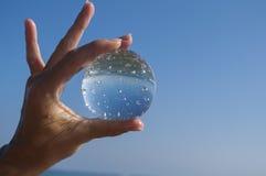 σφαίρα cystal Στοκ φωτογραφία με δικαίωμα ελεύθερης χρήσης