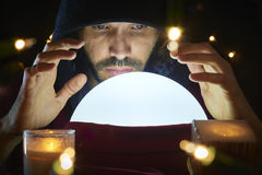 σφαίρα cystal Στοκ εικόνες με δικαίωμα ελεύθερης χρήσης