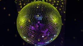 Σφαίρα Disco στο κόμμα φιλμ μικρού μήκους