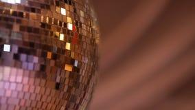 Σφαίρα disco φω'των συμβαλλόμενου μέρους απόθεμα βίντεο