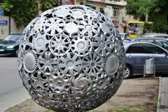 Σφαίρα Hubcaps Στοκ Φωτογραφίες