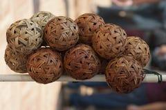 Σφαίρα Takraw Στοκ Φωτογραφίες