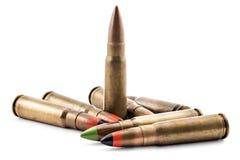 Σφαίρες για το καλάζνικοφ Στοκ φωτογραφία με δικαίωμα ελεύθερης χρήσης