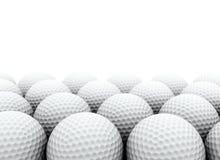 Σφαίρες γκολφ ελεύθερη απεικόνιση δικαιώματος