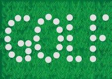 Σφαίρες γκολφ Στοκ εικόνα με δικαίωμα ελεύθερης χρήσης