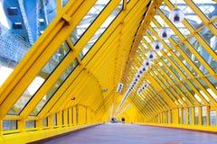 σφαίρες διαδρόμων π κίτρινες Στοκ φωτογραφία με δικαίωμα ελεύθερης χρήσης