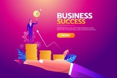 σφαίρες διαστατικά τρία Στόχος στόχου εκμετάλλευσης επιχειρηματιών, σύνολο χαρτοφυλάκων των χρημάτων, όλοι οι στόχοι πραγματοποιη απεικόνιση αποθεμάτων