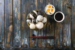 Σφαίρες και αυγά ρυζιού Στοκ Φωτογραφία