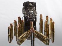 Σφαίρες και κρανίο Στοκ Εικόνες