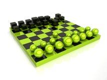 σφαίρες κύβων σκακιού Στοκ Εικόνες