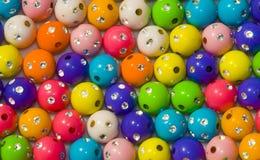 σφαίρες που χρωματίζονται Στοκ εικόνα με δικαίωμα ελεύθερης χρήσης