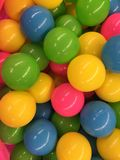 σφαίρες που χρωματίζονται Στοκ φωτογραφίες με δικαίωμα ελεύθερης χρήσης
