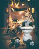 Σφαίρες ρουμιού για το χρόνο Χριστουγέννων στοκ φωτογραφία με δικαίωμα ελεύθερης χρήσης