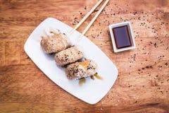 Σφαίρες ρυζιού Onigiri Στοκ Φωτογραφίες