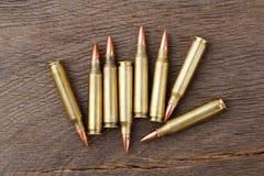 Σφαίρες στο αγροτικό ξύλινο υπόβαθρο Στοκ Εικόνα