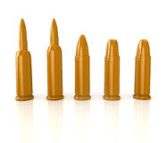 Σφαίρες στο λευκό Στοκ Εικόνες