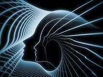 Σφαίρες της γεωμετρίας ψυχής διανυσματική απεικόνιση