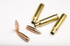 Σφαίρες τουφεκιών που χωρίζονται Στοκ Εικόνα