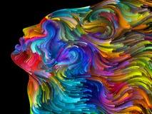 Σφαίρες του χρωματισμένου ονείρου ελεύθερη απεικόνιση δικαιώματος