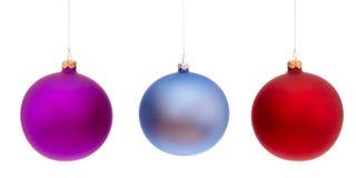 Σφαίρες Χριστουγέννων Στοκ φωτογραφίες με δικαίωμα ελεύθερης χρήσης