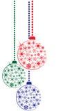 Σφαίρες Χριστουγέννων Στοκ Εικόνα