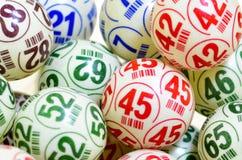 Σφαίρες Bingo Στοκ εικόνα με δικαίωμα ελεύθερης χρήσης