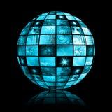 σφαιρικές τηλεπικοινωνίες δικτύων βιομηχανίας Στοκ εικόνα με δικαίωμα ελεύθερης χρήσης