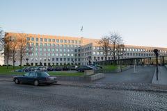 Σφαιρική έδρα της γραμμής Maersk Στοκ εικόνες με δικαίωμα ελεύθερης χρήσης