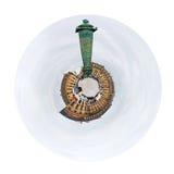 Σφαιρική θέση Vendome άποψης με τη στήλη στο Παρίσι Στοκ Εικόνα