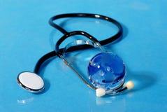 σφαιρική ιατρική Στοκ φωτογραφία με δικαίωμα ελεύθερης χρήσης