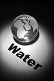 Σφαιρική κρίση νερού Στοκ φωτογραφία με δικαίωμα ελεύθερης χρήσης