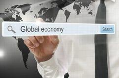 Σφαιρική οικονομία Στοκ Εικόνες