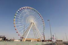 Σφαιρική ρόδα του του χωριού Ντουμπάι Ferris Στοκ Εικόνες