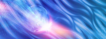 Σφαιρική σειρά 04 έννοιας υποβάθρου συνδέσεων στο Διαδίκτυο Στοκ Εικόνα