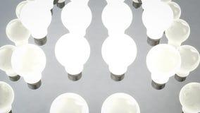 Σφαιρική τοποθέτηση των λαμπών φωτός αλόγονου Στοκ φωτογραφία με δικαίωμα ελεύθερης χρήσης