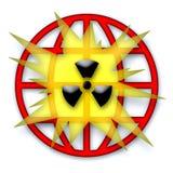 σφαιρικός πυρηνικός κατα& Στοκ εικόνες με δικαίωμα ελεύθερης χρήσης