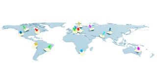 Σφαιρικός χάρτης απεικόνιση αποθεμάτων