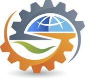 Σφαιρικό λογότυπο εργαλείων Στοκ Εικόνες