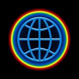 σφαιρικό ουράνιο τόξο Στοκ εικόνες με δικαίωμα ελεύθερης χρήσης