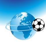 σφαιρικό ποδόσφαιρο απεικόνιση αποθεμάτων