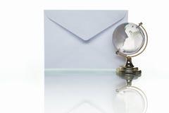 σφαιρικό ταχυδρομείο Στοκ εικόνες με δικαίωμα ελεύθερης χρήσης