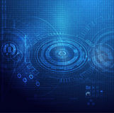Σφαιρικό ψηφιακό υπόβαθρο τεχνολογίας Στοκ Εικόνες