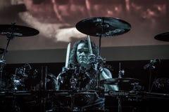ΣΦΗΚΑ στη λέσχη MI 09-11-2017 ζωντανής μουσικής Στοκ Φωτογραφίες