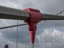 Σφιγκτήρας καλωδίων γεφυρών στοκ εικόνα