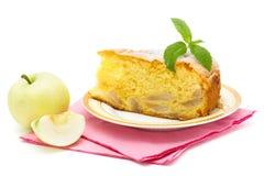 σφουγγάρι κέικ μήλων Στοκ φωτογραφίες με δικαίωμα ελεύθερης χρήσης