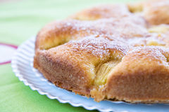 σφουγγάρι κέικ μήλων Στοκ Φωτογραφίες