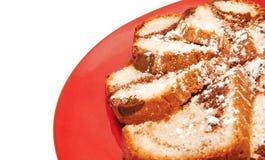 σφουγγάρι κέικ Στοκ Εικόνα