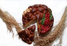 σφουγγάρι κέικ Στοκ Φωτογραφίες