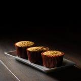 Σφουγγάρι Cupcakes Στοκ Φωτογραφία